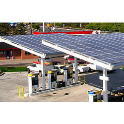 Solar Power Plant For Petrol Pump