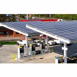 Solar Power Plant For Petrol Pump