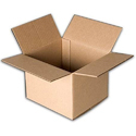 Square Corrugated Paper Packaging Box