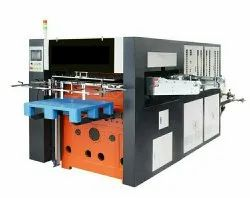 Automatic Roll Creasing and Die Cutting Machine