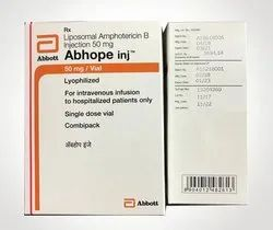 ABHOPE 50mg Injection Amphotericin B 50mg, Abbott, Prescription
