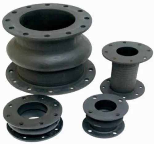 UNICK Black Rubber Expansion Joints, Size: 1 Inch To Customization
