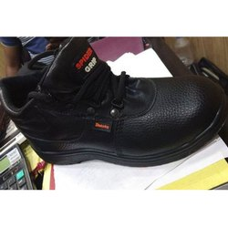 Men Leather Safety Shoes