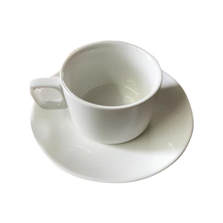 White Melamine Teacup , Usage: Home, Office