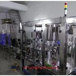 Flavoured Juice Filling Machine