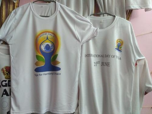 Promotional Products - International Day Of Yoga Printed T Shirts