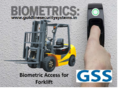 Forklift Card or Finger Access Control System for Vehicle Start & Stop Solution