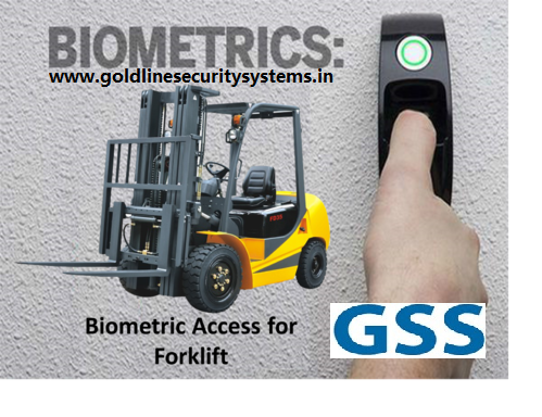 Forklift Finger Access Control Machine