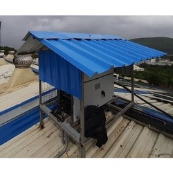 Mild Steel Panel Build Utility Prefabricated Roofing Shed