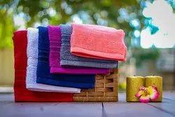 Leaf Dew Solid 100% Cotton Face Towel, 40 Gm, Size: 30 X 30 Cm