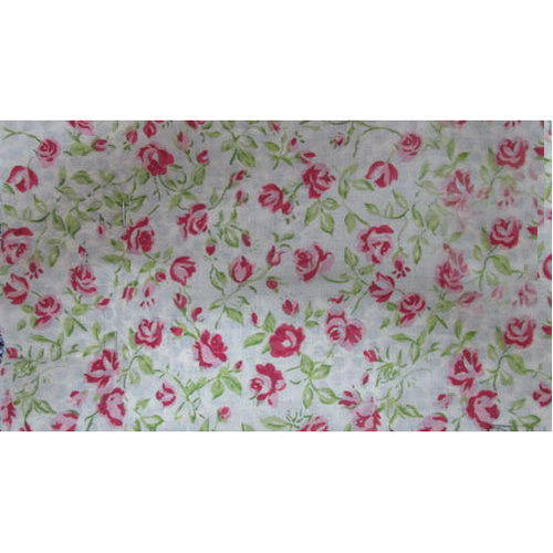Cotton Fancy Printed Fabric, GSM: 100-150