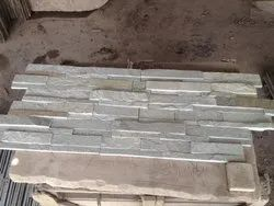 Mint White Ledge Stone Panel