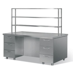 Stainless Steel Rectangular Service Work Table