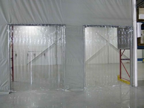 Transparent Pvc Strip Curtain Roll Rs 145 Roll Ezeeflex