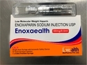 Enoxaparin 60mg/0.6ml Prefilled Syringe, For Hospital, Packaging Type: Pfs