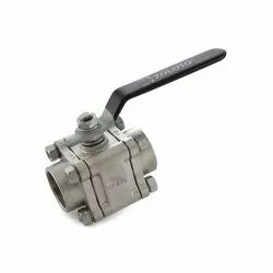 1080A CF8M Stainless Steel Three Piece Design Ball Valve