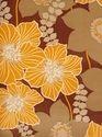Floral Vinyl Wallpaper