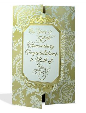 On your 50th anniversary card at rs 99 cards archies gallery on your 50th anniversary card bookmarktalkfo Image collections