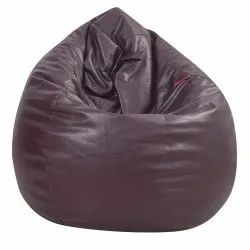 Dark Brown Bean Bag