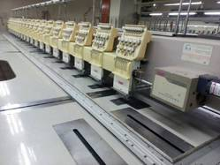 SWF Brand Used Embroidery Machine