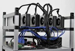 Bitcoin Etherium Monero Mining Rig