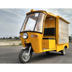 Electric Van Cargo Tricycle - Fruit / Vegetable Cart
