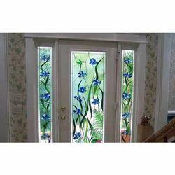 Decorative Door Glass Film