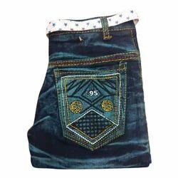 Denim Casual Wear Kids Stretchable Jeans