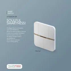 Touchmatik Smart Switch 3 Switches (Garnet)