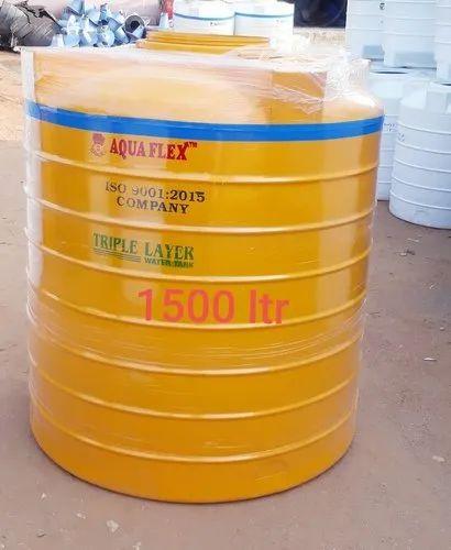 1500 Liter  Triple Layer Water  Tanks