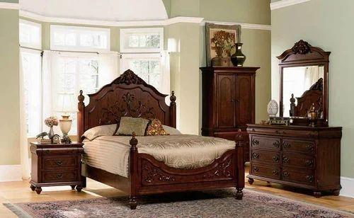 Strange Pure Mahogany Wooden Bedroom Set India Wood Factory Download Free Architecture Designs Scobabritishbridgeorg