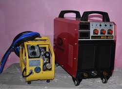 Three Phase MIG 400 Welding Machine, Automatic Grade: Semi-Automatic, Forced Air