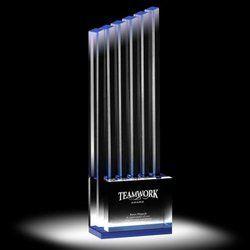 Teamwork Crystal Trophy