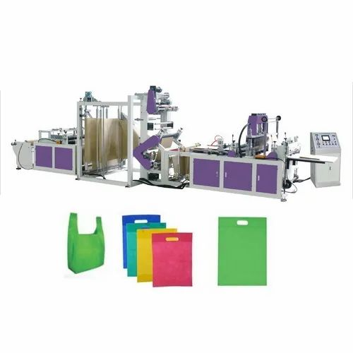 ZXL-B700 Non Woven Carry Bag Making Machine Double Line