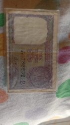 1 Rupees Old Note