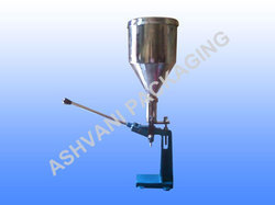 Manual Paste Filling Machine 10-100 Gm