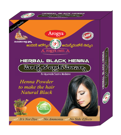 Black Organic Herbal Henna Pack Size 100gm For Parlour Rs 50