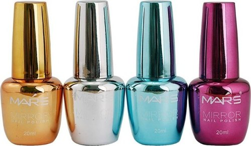 Mirror Finish Glass Nail Paint Bottle न ख न प ल श क ब तल न ल प ल श ब टल Kumar Glass House New Delhi Id 22151956097