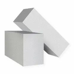Solid Rectangular AAC Partition Block, Size: 24 x 8 x 8 Inch