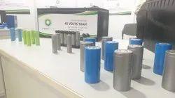 Lithium ferrophospet battery