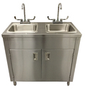 SS Handwash Sink With Tank