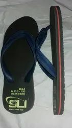 Rubber Daily Use M.S.-3 Man Slipper, Size: 5-10