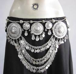 Afghani Kuchi Tribal Belly Dance Chain Belt