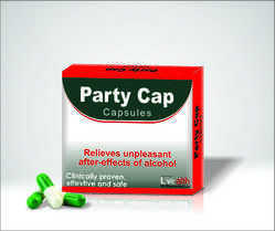Party Cap Capsules for Clinical