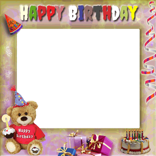 Plastic Birthday Photo Frame, Rs 500 /piece, Golden Frame Works | ID ...