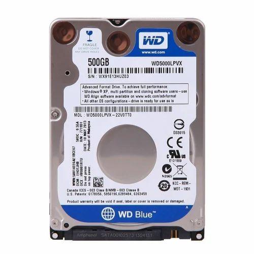 500 Gb, 1tb SATA Internal Notebook Hard Disk