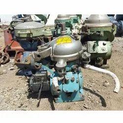 Mab Series Of Alfa Laval Separators For Lube Oil