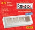 Rabbit & Repeat Plastic 8 Way Electrical Boxes, For Electric Fitting, Push Button Box