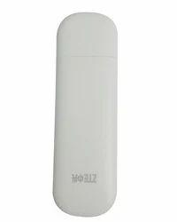 ZTE Mf-197 32 GB 3G GSM Data Card - White