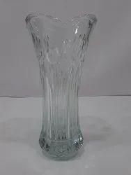 Glass & Crystal Vases Glossy Glass Flower Vase/ Pot (Medium)